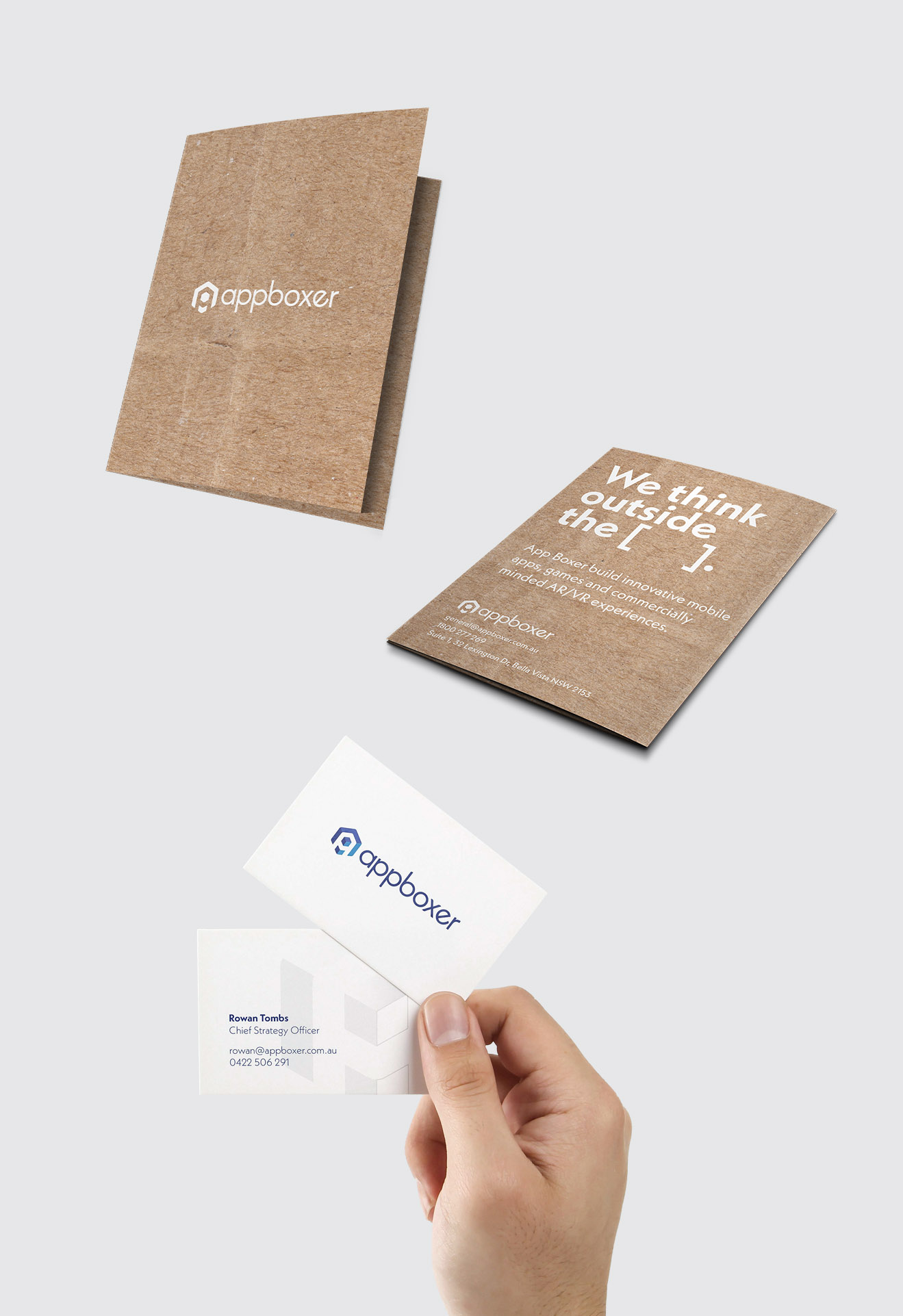 App Boxer Business Cards